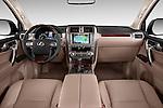 Stock photo of straight dashboard view of 2018 Lexus GX 460 5 Door SUV Dashboard