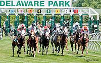 Native Wave winning at Delaware Park on 6/22/13