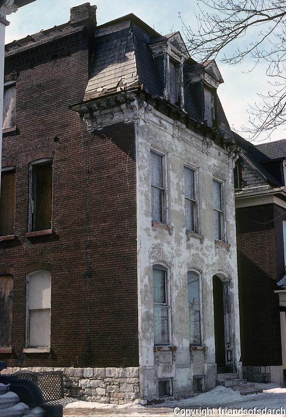 St. Louis: House near Lafayette Park. Photo '78.