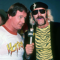 Roddy Piper Jessie Ventura 1986 Photo By John Barrett/PHOTOlink