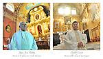 In occasione del gemellaggio tra Altare in Liguria e San Carlos in Argentina, duplici ritratti di cittadini gemellati.