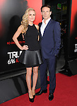 Anna Paquin and Stephen Moyer  at HBO True Blood Season 6 Premiere held at The Cinerama Dome in Hollywood, California on June 11,2013                                                                   Copyright 2013 Hollywood Press Agency