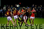 Action from Brosna v Duagh in the North Kerry Senior Football Championship on Friday in Listowel
