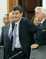 Alessandro Pepe.CSM - Consiglio Superiore della Magistratura (Plenum) .Nomina del Vice Presidente.Roma, 2 Agosto 2010.Photo Serena Cremaschi Insidefoto