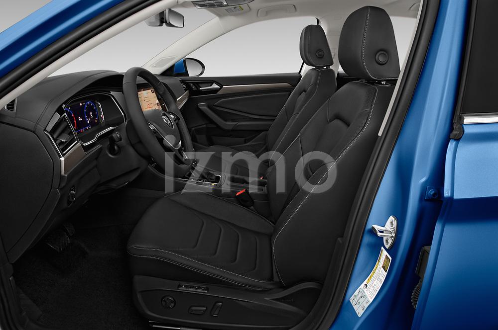 Front seat view of a 2019 Volkswagen Jetta SEL Premium 4 Door Sedan front seat car photos