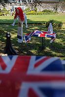 Royaume-Uni, îles Anglo-Normandes, île de Sark (Sercq) Concours d'épouvantails // United Kingdom, Channel Islands, Sark Island (Sercq)