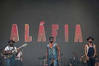 SAO PAULO, SP 07.04.2019: LOLLAPALOOZA-SP - Show com Aláfia. Lollapalooza Brasil 2019, que acontece de 05 a 07 de abril no Autodromo de Interlagos, zona sul da capital paulista. (Foto: Ale Frata/Codigo19)
