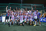 A-Trade Overseas Old Boys are Plate winners during GFI HKFC Rugby Tens 2016 on 07 April 2016 at Hong Kong Football Club in Hong Kong, China. Photo by Marcio Machado / Power Sport Images