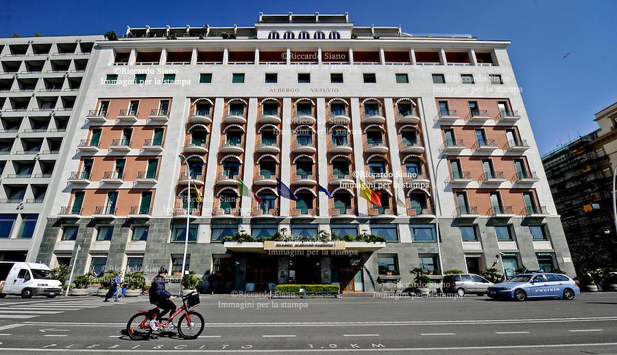 - NAPOLI 1 APR  2014 -   hotel vesuvio