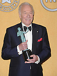 Christopher Plummer attends the 18th Annual Screen Actors Guild Awards held at The Shrine Auditorium in Los Angeles, California on January 29,2012                                                                               © 2012 Hollywood Press Agency