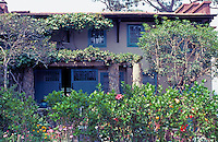 Irving Gill: Wheeler J. Bailey House. East facade facing street. (Photo 2000)