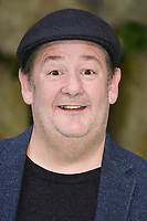 """Johnny Vegas<br /> arriving for the """"Early Man"""" world premiere at the IMAX, South Bank, London<br /> <br /> <br /> ©Ash Knotek  D3369  14/01/2018"""
