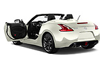 Car images close up view of a 2019 Nissan 370Z  Touring  2 Door Convertible doors
