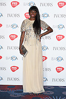 Jin Jin Bennett<br /> arrives for the 2016 Ivor Novello Awards at the Grosvenor House Hotel, London.<br /> <br /> <br /> ©Ash Knotek  D3121  19/05/2016
