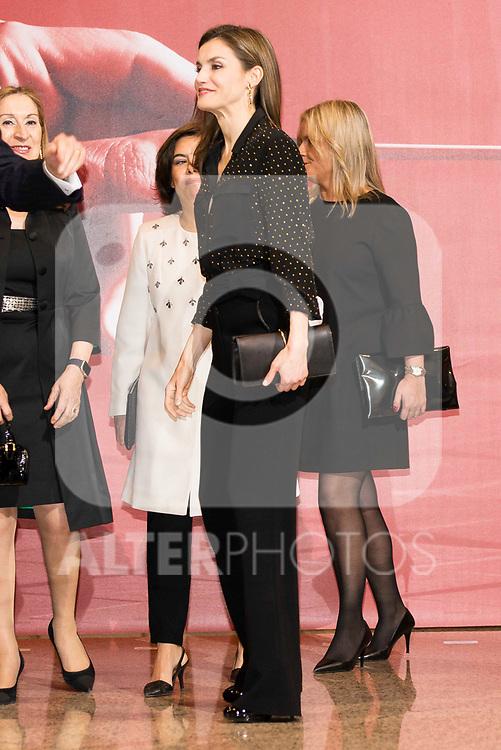 "Queen Letizia during the concert ""In Memoriam"" in honor of the victims of terrorism at  Auditorio Nacional de Musica in Madrid. March 08, 2017. (ALTERPHOTOS/Borja B.Hojas)"