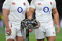 England win the Triple Crown after beating Wales in the Guinness Six Nations match between England and Wales at Twickenham Stadium on Saturday 7th March 2020 (Photo by Rob Munro/Stewart Communications)