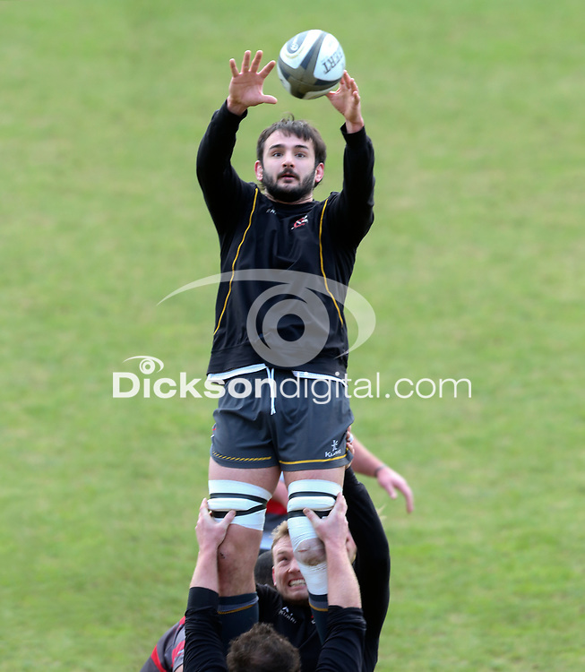 Thursday 18th February 2021 | Ulster Rugby Captain's Run<br /> <br /> Greg Jones during the Ulster Rugby Captain's Run held at Kingspan Stadium, Ravenhill Park, Belfast, Northern Ireland, ahead of the Glasgow PRO14clash on Friday night. Photo by John Dickson / Dicksondigital