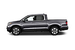 Car Driver side profile view of a 2018 Honda Ridgeline RTL-T 4 Door Pick-up Side View
