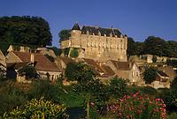 Europe/France/Centre/18/Cher/Châteauneuf-sur-Cher : Le château [Non destiné à un usage publicitaire - Not intended for an advertising use]