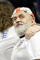 England's supporter during international friendly match. November 13,2015.(ALTERPHOTOS/Acero)