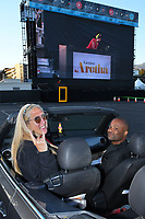 """PASADENA, CA - JUNE 10: Scene from National Geographic's """"Genius: Aretha"""" FYC Drive-In Screening And Panel at the Rose Bowl on June 10, 2021 in Pasadena, California. (Photo by Vince Bucci/National Geographic/PictureGroup)"""