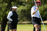 STANFORD, CA - APRIL 23: Kelli Kamimura at Stanford Golf Course on April 23, 2021 in Stanford, California.