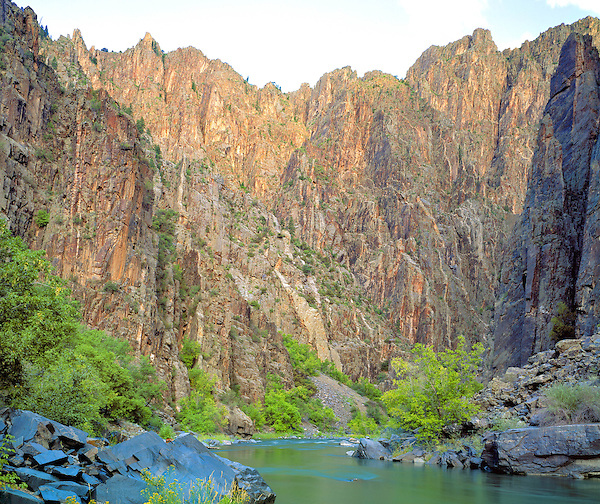 Gunnison River in the Black Canyon, Colorado, USA John leads private photo tours throughout Colorado, year-round. .  John offers private photo tours and workshops throughout Colorado. Year-round.