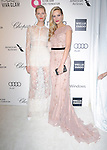 Karolina Kurkova and Petra Nemcova attends the 2014 Elton John AIDS Foundation Academy Awards Viewing Party in West Hollyood, California on March 02,2014                                                                               © 2014 Hollywood Press Agency