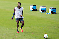 Danny Welbeck of England during training