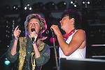 Daryl Hall & Paul Young live at Pier 84, NY in 1985