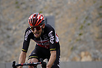 Harm Vanhoucke (BEL) Lotto-Soudal climbs the final 4km of Jais Mountain during Stage 5 of the 2021 UAE Tour running 170km from Fujairah to Jebel Jais, Ras Al Khaimah, UAE. 25th February 2021.  <br /> Picture: Eoin Clarke   Cyclefile<br /> <br /> All photos usage must carry mandatory copyright credit (© Cyclefile   Eoin Clarke)