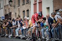 Kasper Asgreen (DEN/Deceuninck-Quick Step)<br /> <br /> 88th UCI Road World Championships 2021 – ITT (WC)<br /> Men's Elite Time trial from Knokke-Heist to Brugge (43.3km)<br /> <br /> ©Kramon