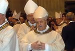 CARDINALE MICHELE GIORDANO<br /> MESSA DI RINGRAZIAMENTO PER I 50 ANNI DI SACERDOZIO DEL CARDINAL CAMILLO RUINI - SAN GIOVANNI IN LATERANO ROMA 2004