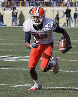 Syracuse wide receiver Van Chew. The Pittsburgh Panthers beat the Syracuse Orange 33-20 at Heinz Field in Pittsburgh, Pennsylvania on December 3, 2011
