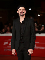 Il regista Gianluca Grandinetti posa  durante il red carpet di presentazione del suo film 'Negramaro. L'anima vista da qui' alla 14^ Festa del Cinema di Roma all'Aufditorium Parco della Musica di Roma, 25 ottobre 2019. <br /> Italian director Gianluca Grandinetti poses on the red carpet to present his movie 'Negramaro. L'anima vista da qui' during the 14^ Rome Film Fest at Rome's Auditorium, on 25 October 2019.<br /> UPDATE IMAGES PRESS/Isabella Bonotto