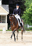 10 July 2009: Diana Burnett riding Manny during the dressage phase of the CIC 3* Maui Jim Horse Trials at Lamplight Equestrian Center in Wayne, Illinois.