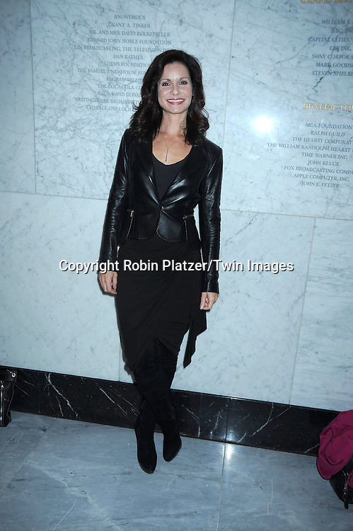 Florencia Lozano at the Conversation with the cast of One Life to Live at the Paley Center for .Media by SAG on November 2, 2010 in New York City. .Photo by Robin Platzer/ Twin Images