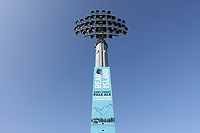 A floodlight pylon ahead of Kent CCC vs Essex CCC, Specsavers County Championship Division 1 Cricket at the St Lawrence Ground on 20th August 2019