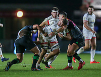 Friday 13th December 2019 | Harlequins vs Ulster Rugby<br /> <br /> Sean Reidy during the Heineken Champions Cup Round 4 clash in Pool 3, between Harlequins and Ulster Rugby and Harlequins at The Stoop, Twickenham, London, England. Photo by John Dickson / DICKSONDIGITAL