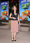 Amy Yasbeck attends The Paramount Pictures' L.A. Premiere of RANGO held at The Regency Village Theatre in Westwood, California on February 14,2011                                                                               © 2010 DVS / Hollywood Press Agency