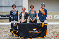 YR Novice - Champion: Samantha Belsham (Dolcetto II); Reserve: Amy Sage (HPH Furst Welcome). 2021 NZL-Equestrian Entries NZ Youth Dressage Festival. NEC Taupo. Sunday 31 January. Copyright Photo: Libby Law Photography