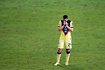 Federico Vinas of Club America (MEX) reacts after losing their CONCACAF Champions League Semi Finals match against Los Angeles FC (USA) at the Orlando's Exploria Stadium on 19 December 2020, in Florida, USA. Photo by Victor Fraile / Power Sport Images