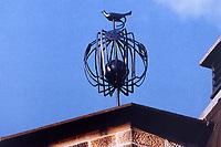 Decorative ornament on roof of Glasgow School of Art. Charles Rennie Mackintosh. Art Nouveau