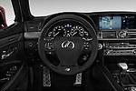 Car pictures of steering wheel view of a 2017 Lexus LS 460-Sport 4 Door Sedan Steering Wheel