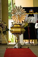 A música perde o compositor e cantor mestre Vieira.<br />Joaquim Lima Vieira, o Mestre Vieira. foi velado por centenas de pessoas entre familiares, amigos e adimiradores no salao paroquial da igreja catolica de Barcarena. <br />03-02-18. <br />Fotos: Maycon Nunes