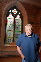 NO REPRO FEE.13/12/2010. The Field rehearsals. Brian Dennehy performing the iconic role of 'The Bull' McCabe is pictured at Smock Alley Theatre, Temple Bar, Dublin for their first day of rehearsals for John B Keane's award-winning play, The Field. It will be directed by Joe Dowling. The play returns to The Olympia Theatre where it premiered over 45 years ago and will run from January 13 through to 12 February. Picture James Horan/Collins Photos