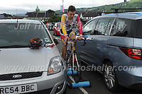 "A pre race warm up during the Abergavenny Festival of Cycling ""Grand Prix of Wales"" race on Sunday 17th 2016<br /> <br /> <br /> Jeff Thomas Photography -  www.jaypics.photoshelter.com - <br /> e-mail swansea1001@hotmail.co.uk -<br /> Mob: 07837 386244 -"