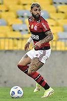 3rd October 2021; Maracana Stadium, Rio de Janeiro, Brazil; Brazilian Serie A, Flamengo versus Athletico Paranaense; Gabriel Barbosa of Flamengo