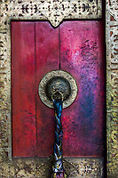 Door at Thiksey Monsatery.