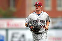 Mahoning Valley Scrappers' INF-OF CHASE BURNETTE  during a game vs. the Lowell Spinners at LaLacheur Park in Lowell, Massachusetts August 15, 2010.   Photo By Ken Babbitt/Four Seam Images